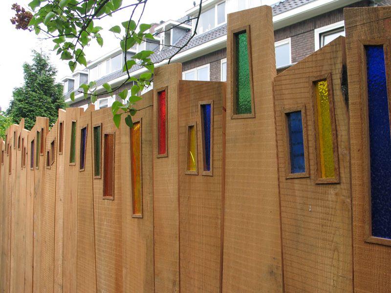 Alex den Braver, Groningen schutting Sichtschutz, Mauern,Zäune - Windows Fences