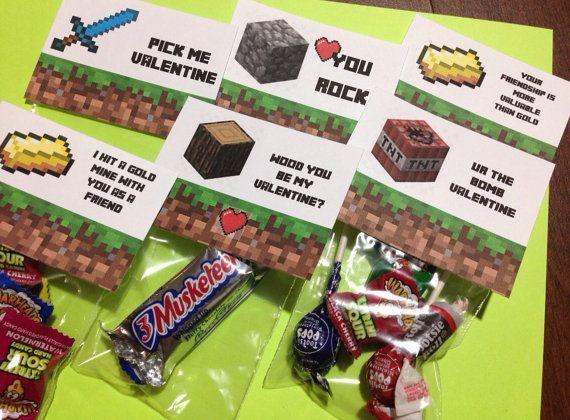 minecraft valentine ideas minecraft valentine s day party diy