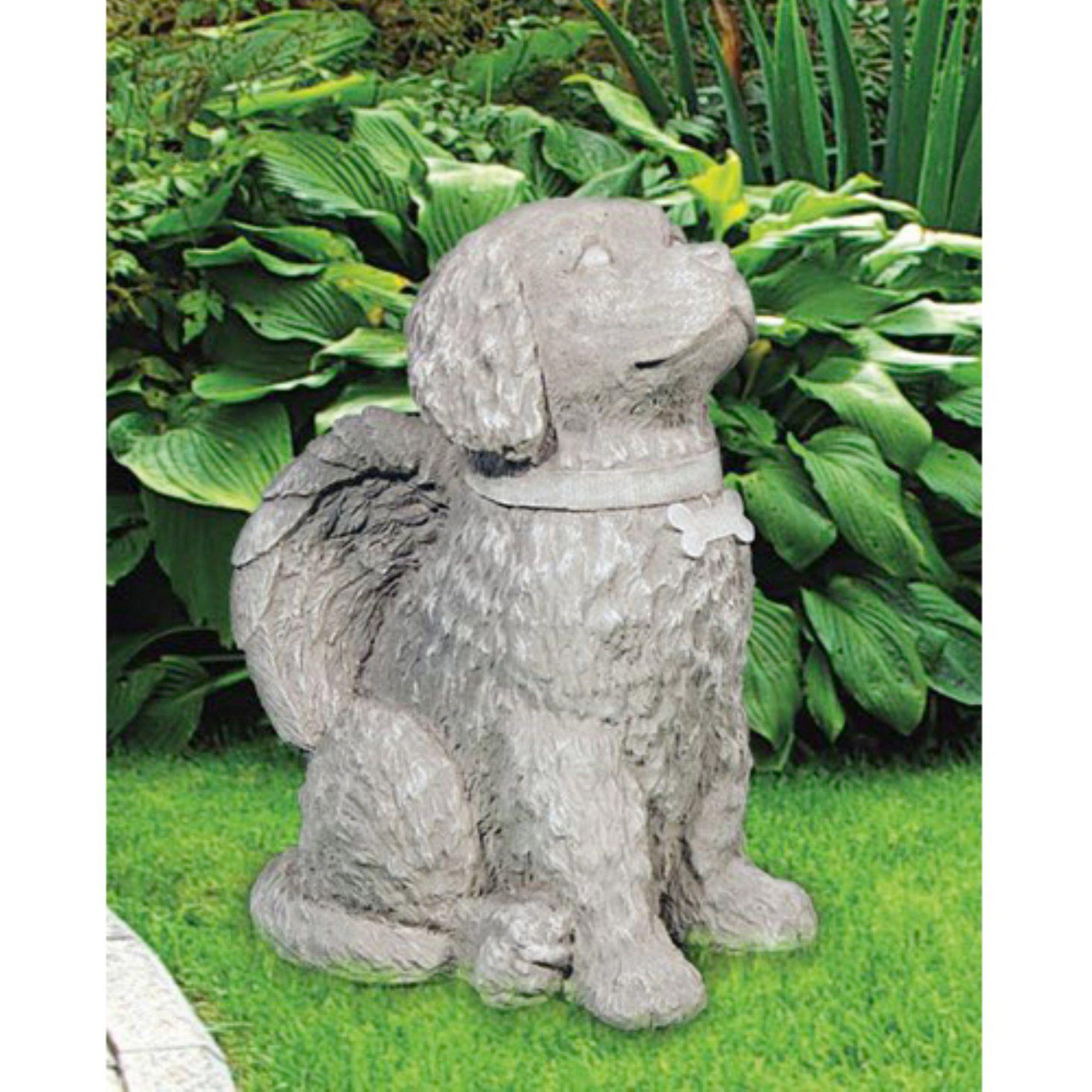 Henri Studio Angelic Dog Garden Statue  1720 Rn