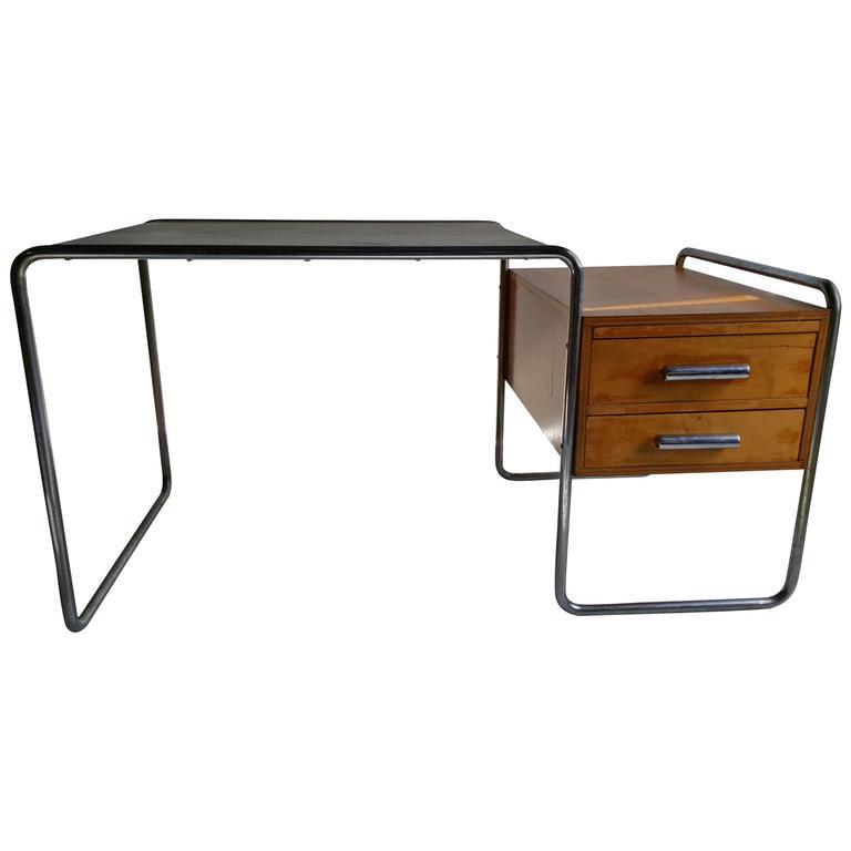 Rare and Important Marcel Breuer Bauhaus Desk for