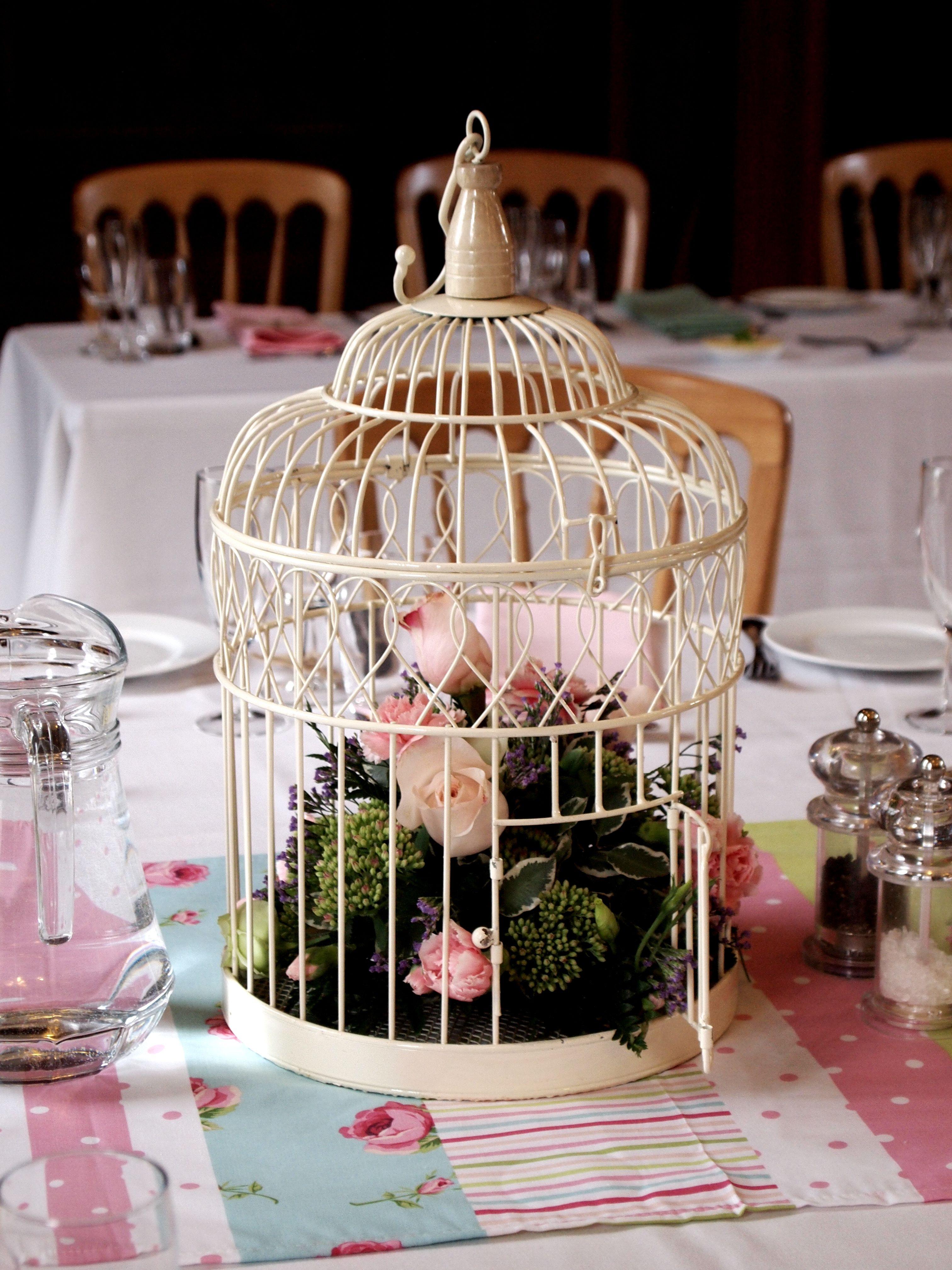 petite mafalda decoracin con jaulas de pjaros antiguas