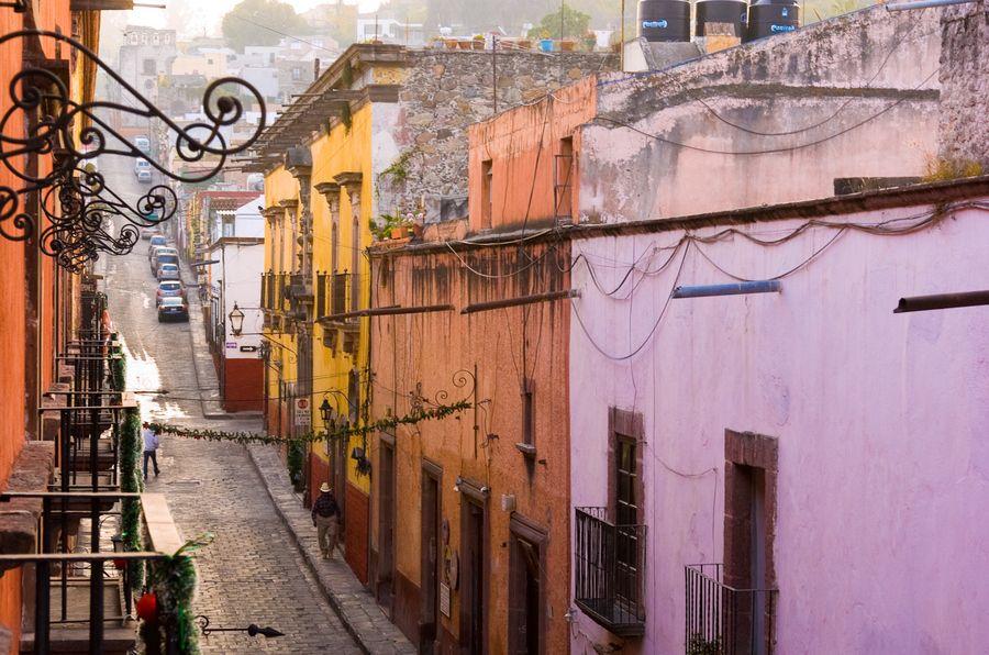 Early morning San Miguel de Allende, Mexico