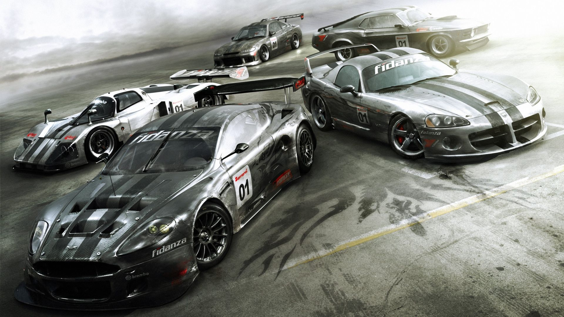 Download Wallpaper 1920x1080 Grid autosport, Codemasters