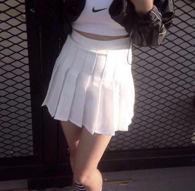 Pinterest Madicom Skirt Trends White Tennis Skirt Skirt Outfits Fall