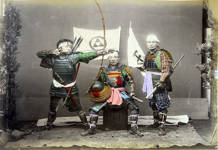 Old photos of Japan in color