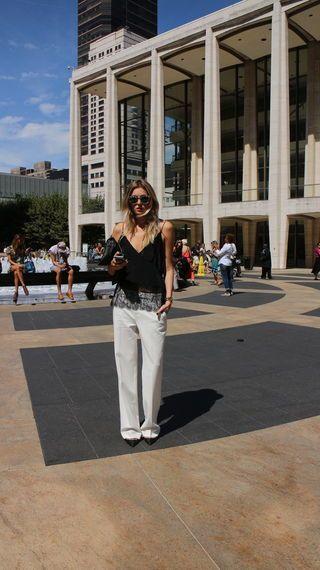 New York Fashion Week – Streetstyle – ELLE