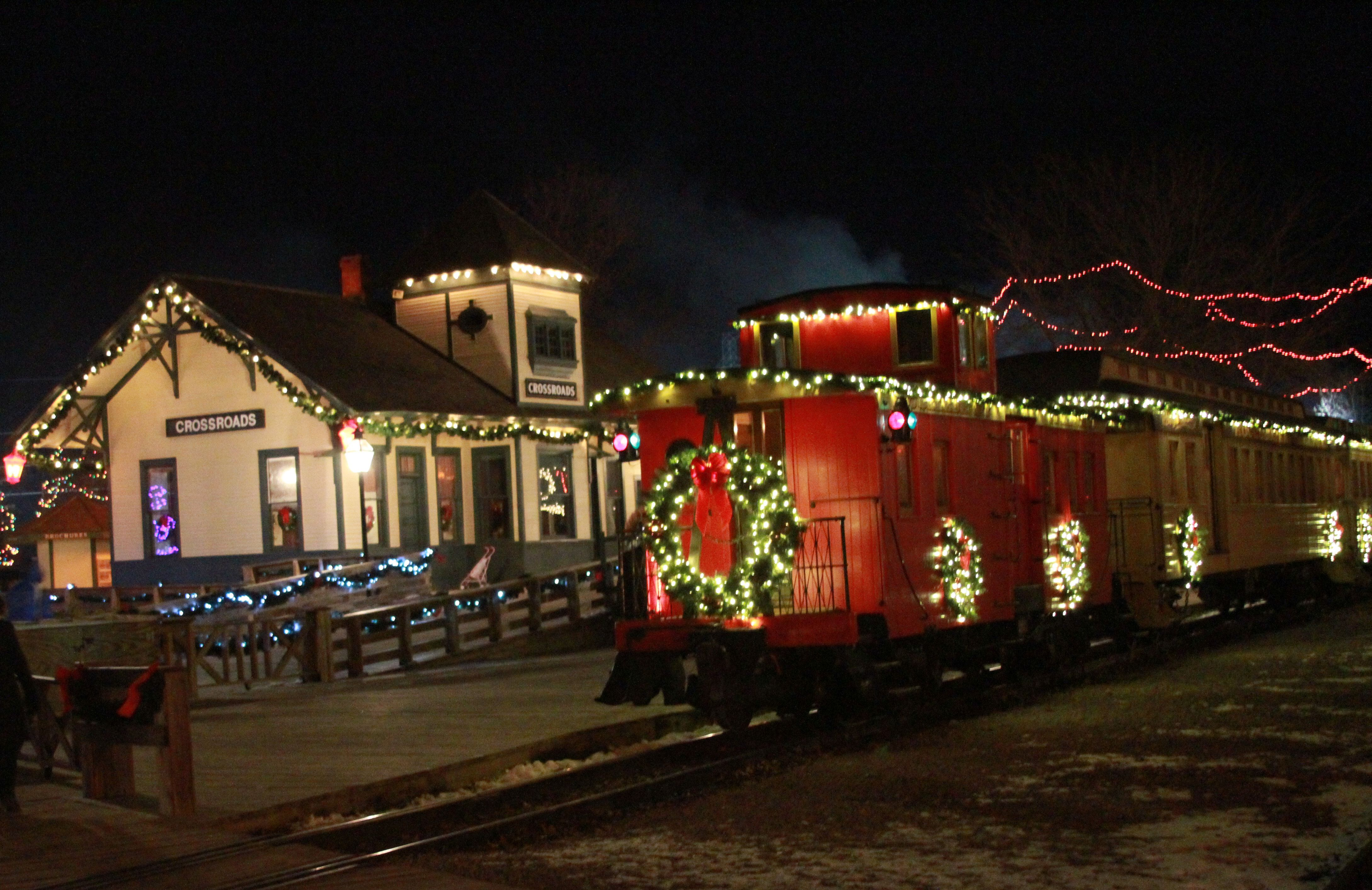 Christmas at Crossroads Village in Flint. Very cool if you\'ve never ...