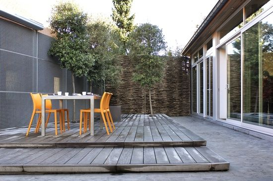 Kleine tuin strak en modern tuin interior garden