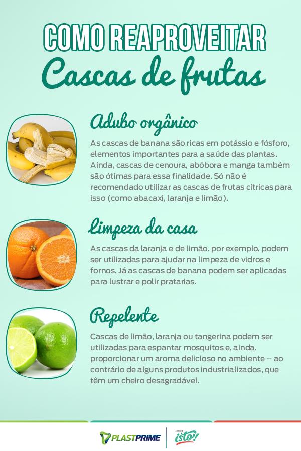Dicas Para Reaproveitar Cascas De Frutas E Legumes Blog Plastprime Frutas Legumes Casquinha