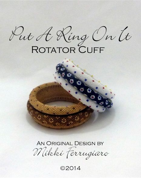 TUTORIAL with VIDEO CLASS Put A Ring On It Rotator Cuff with Motion | Mikki Ferrugiaro Designs