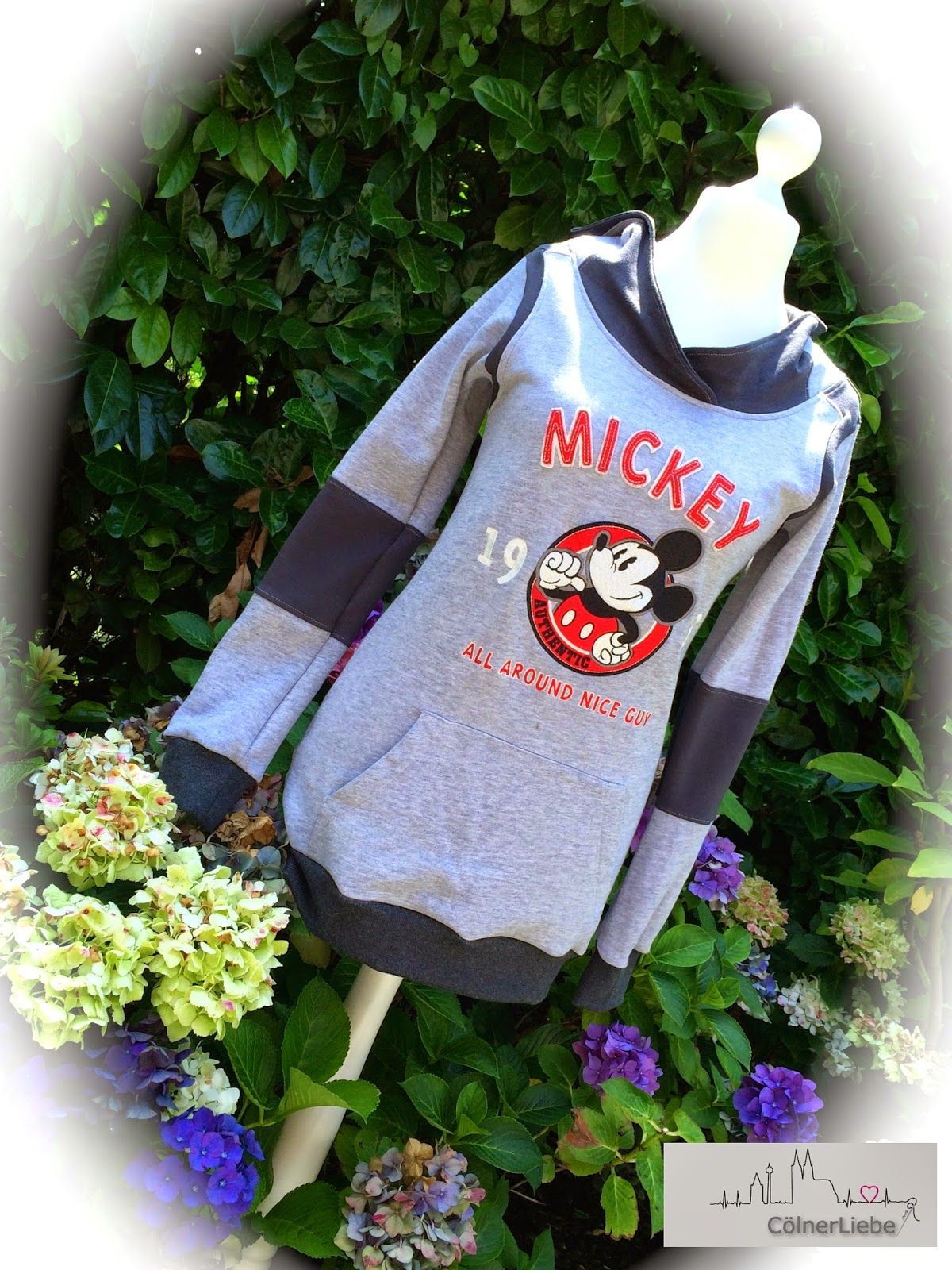 Lieblingsshirt aus altem Pulli / Favourite shirt made from old hoodie / Upcycling