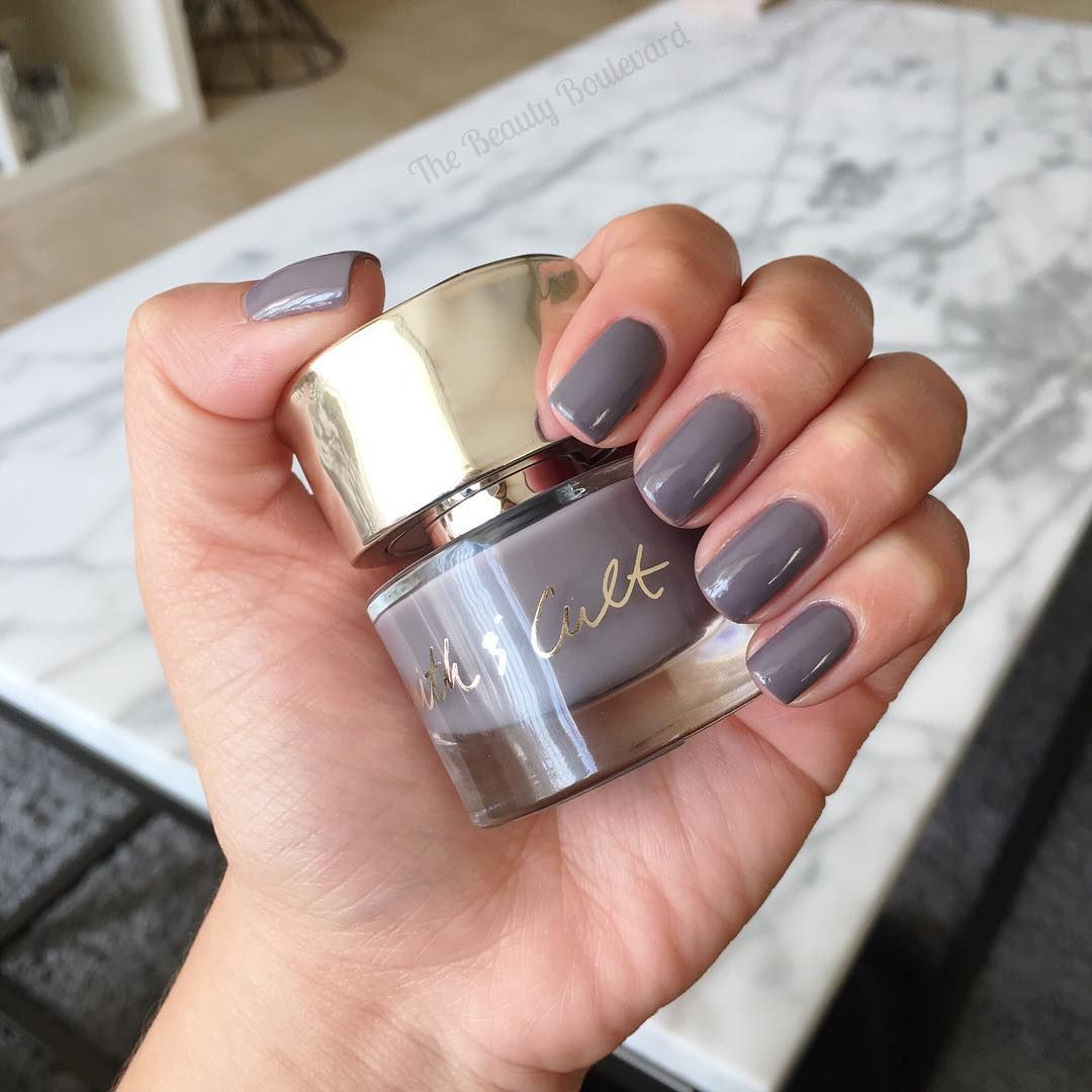 Smith & Cult | Stockholm Syndrome is an opaque, elephant gray nail ...
