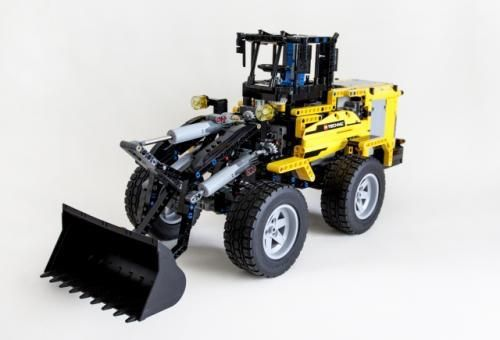 Lego Set Moc 1805 Front Loader Mkii Building Instructions And