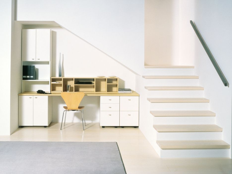 Built In Under Stairs Home Office Vurni