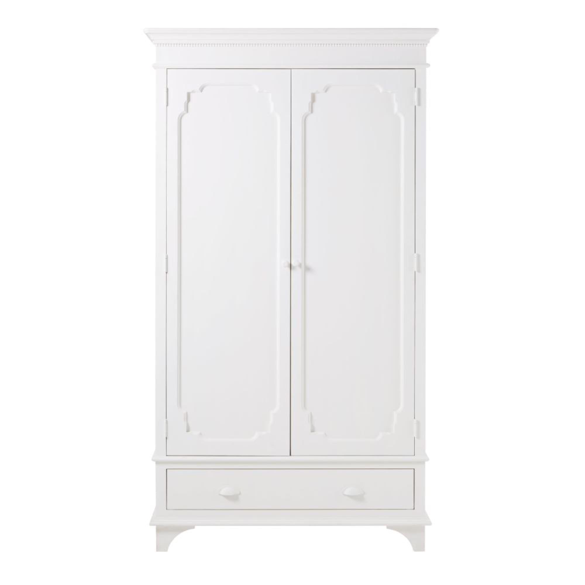 Guardarropa Blanco Roto Con 2 Puertas Idylle Maisons Du Monde 2 Door Wardrobe Kids Furniture Design White Cupboards