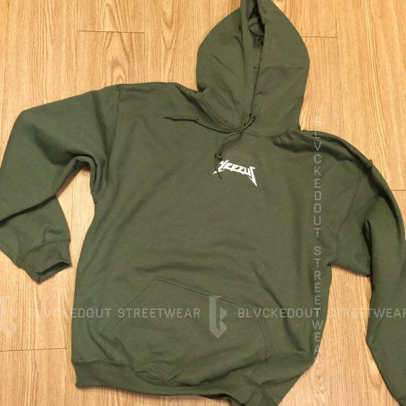 yeezus tour green hoodie yeezy yeezus merch by blvckedout  yeezus tour green hoodie yeezy yeezus merch by blvckedout
