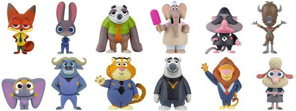 Disney Zootropolis//Zootopia MINI PERSONNAGE FIGURINE-Mr Big