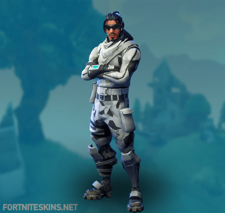 Fortnite Absolute Zero Skin Rare Outfit Fortnite Skins Character Outfits Outfits Skin