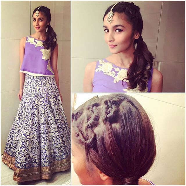 Image result for 7 Bollywood-Inspired Makeup Looks To Pair With Your Indian Outfits Alia Bhatt