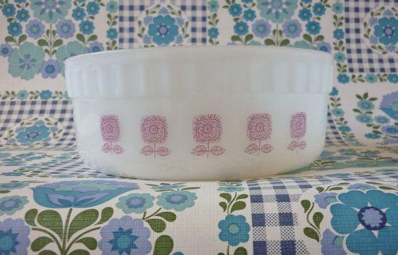 Crown Pyrex Souffle Dish by BeachKiosk on Etsy