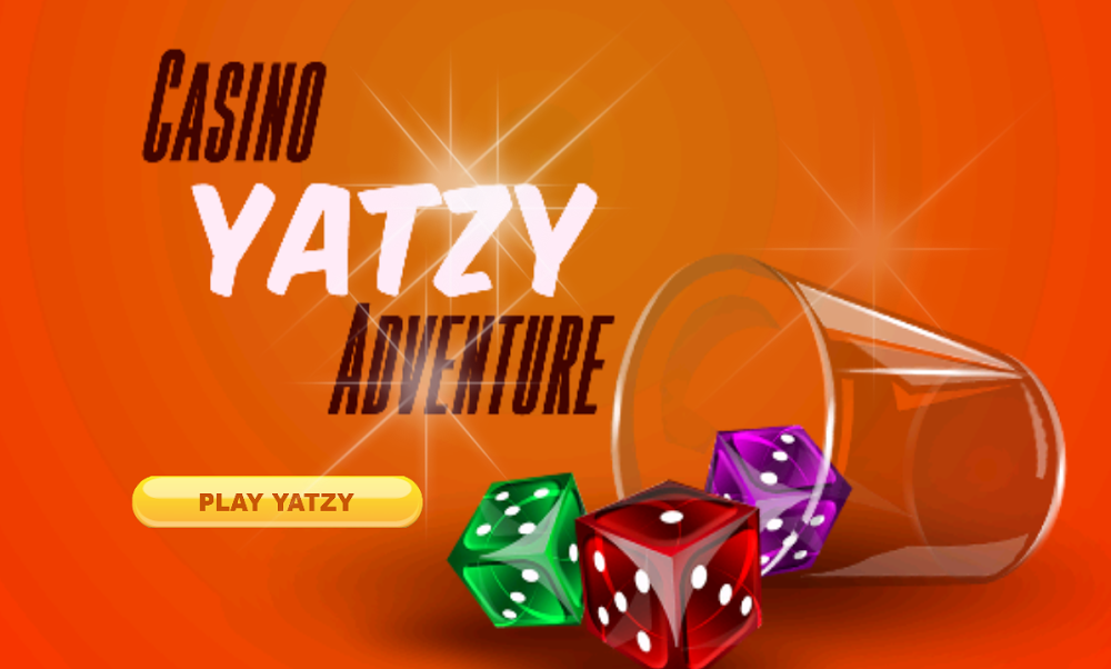 Casino Yatzy Adventure Game lets you spin the Dice on your