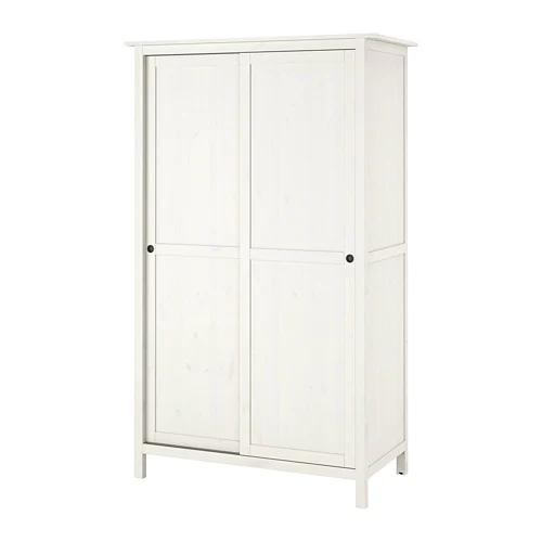 Hemnes Armoire 2 Portes Coulissantes Teinte Blanc Ikea Suisse Armoire 2 Portes Armoire Hemnes Et Porte Coulissante