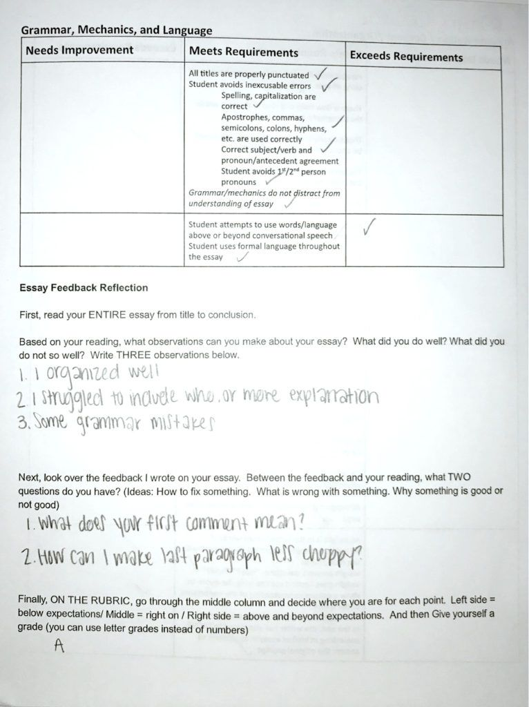 Delaying the Grade: How to Get Students to Read Feedback | Pinterest ...