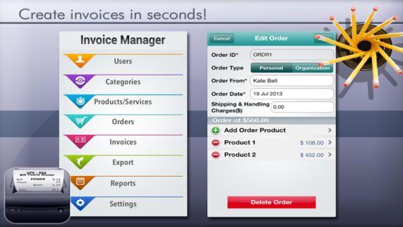Easy Invoice Manager Lite iOS #App by The App Guruz iOS Apps - easy invoice