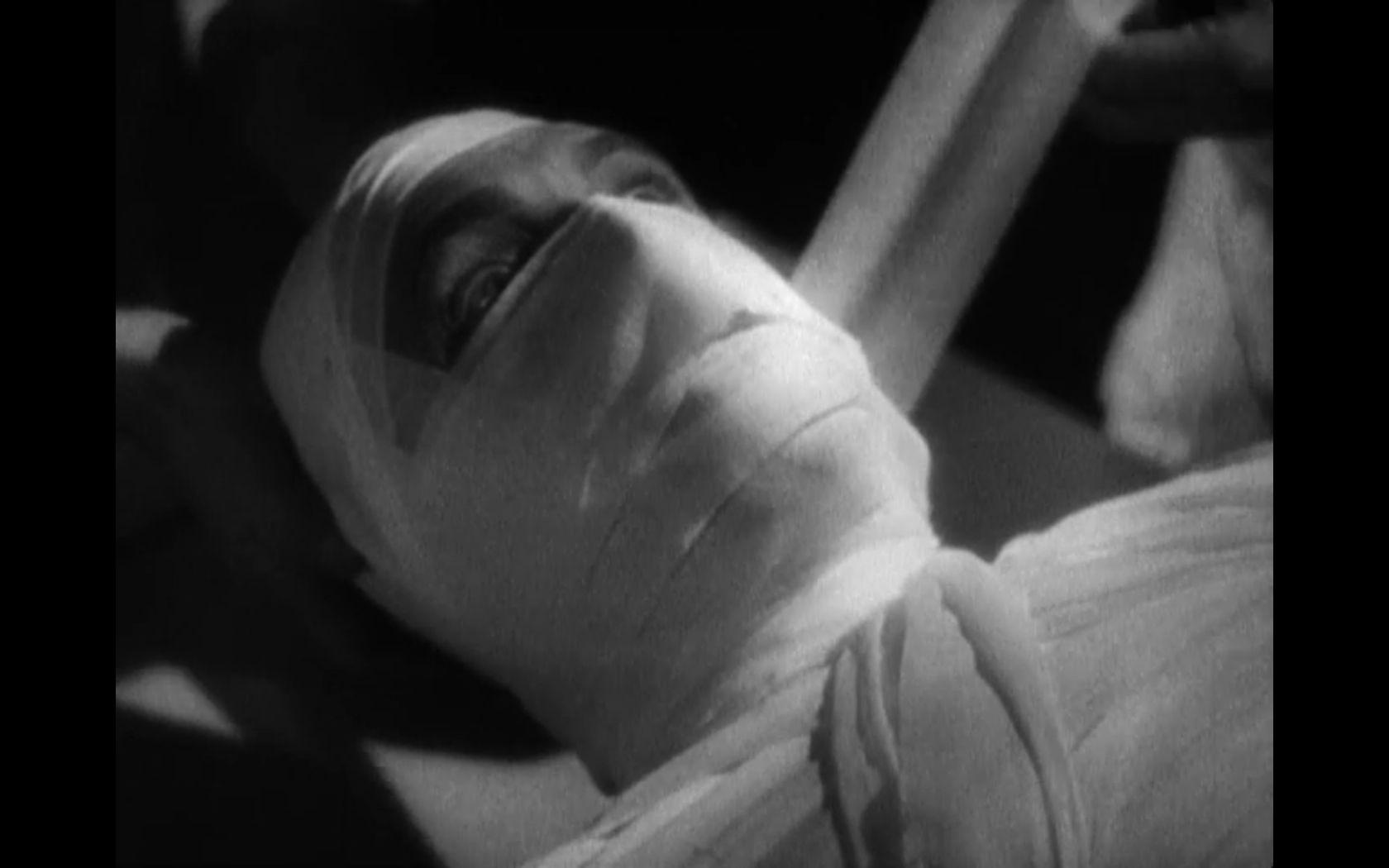 mummified alive the mummy