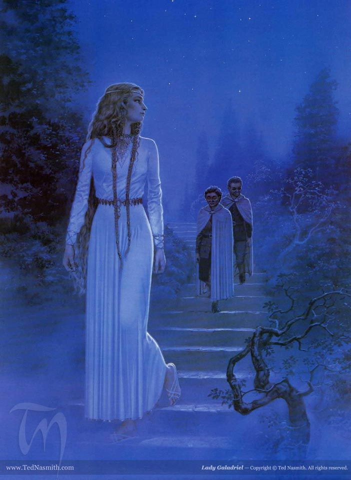 Lady Galadriel, by Ted Nasmith