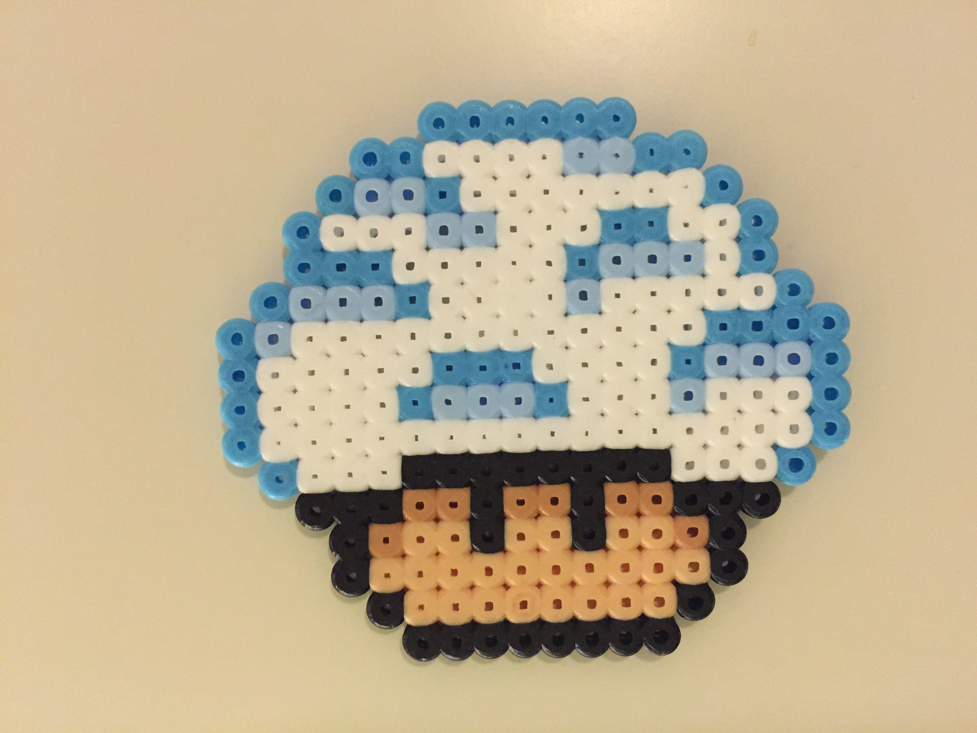 Perler Bead Mushroom Cloud By Bjrnbr Perlerhamasquare