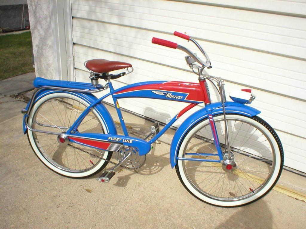1950 Murray Mercury Fleetline bicycle