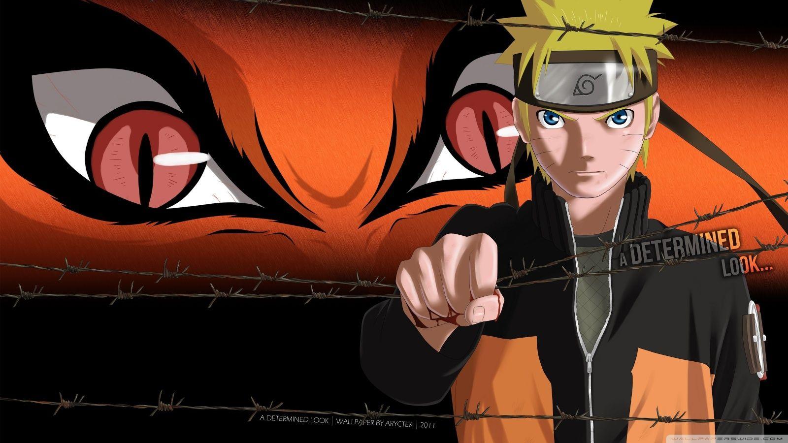 Naruto Shippuden Kyuubi Naruto Uzumaki HD Desktop Wallpaper HD