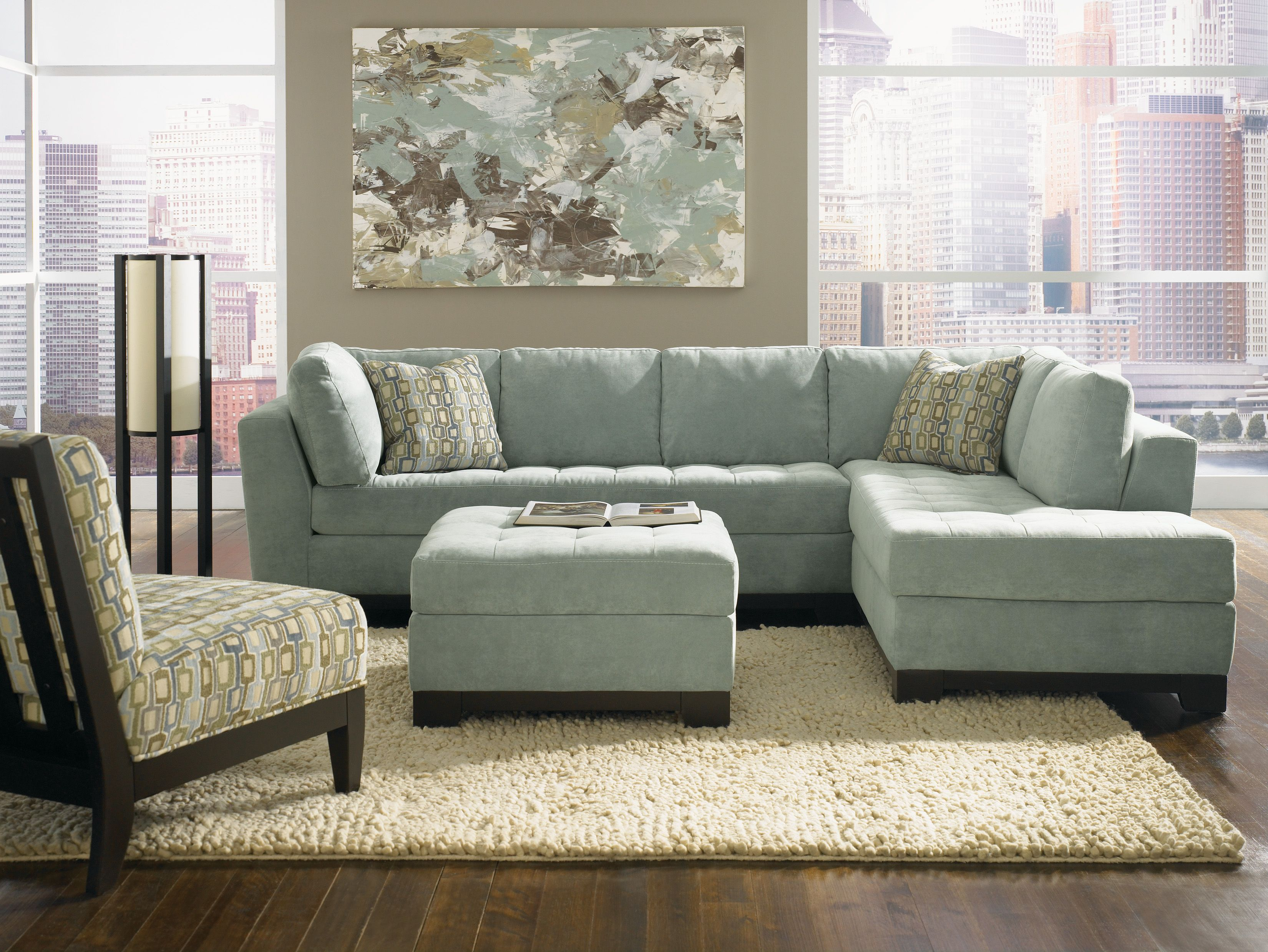 U0027Gabrielleu0027 Sectional. Available With RAF Or LAF Chaise. Ottoman U0026 Accent  Chairs