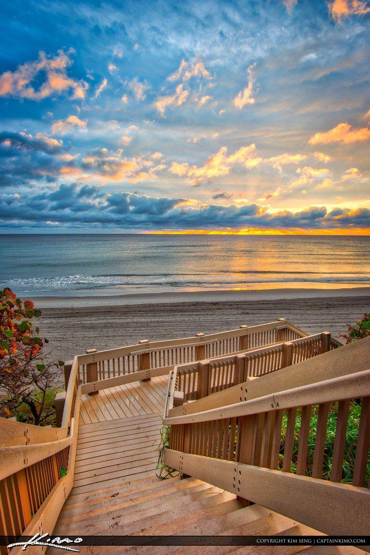 sunrise_red_reef_park_boca_raton_florida by CaptainKimo