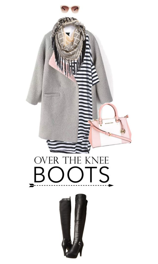 """Rock On: Over the Knee Boots"" by missioppa ❤ liked on Polyvore featuring Madden Girl, MICHAEL Michael Kors, BP., Eloquii and OverTheKneeBoots"
