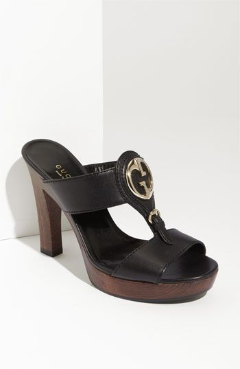 Gucci 'Village' Sandal | Nordstrom - Pretty! Too bad they aren't 75% off...