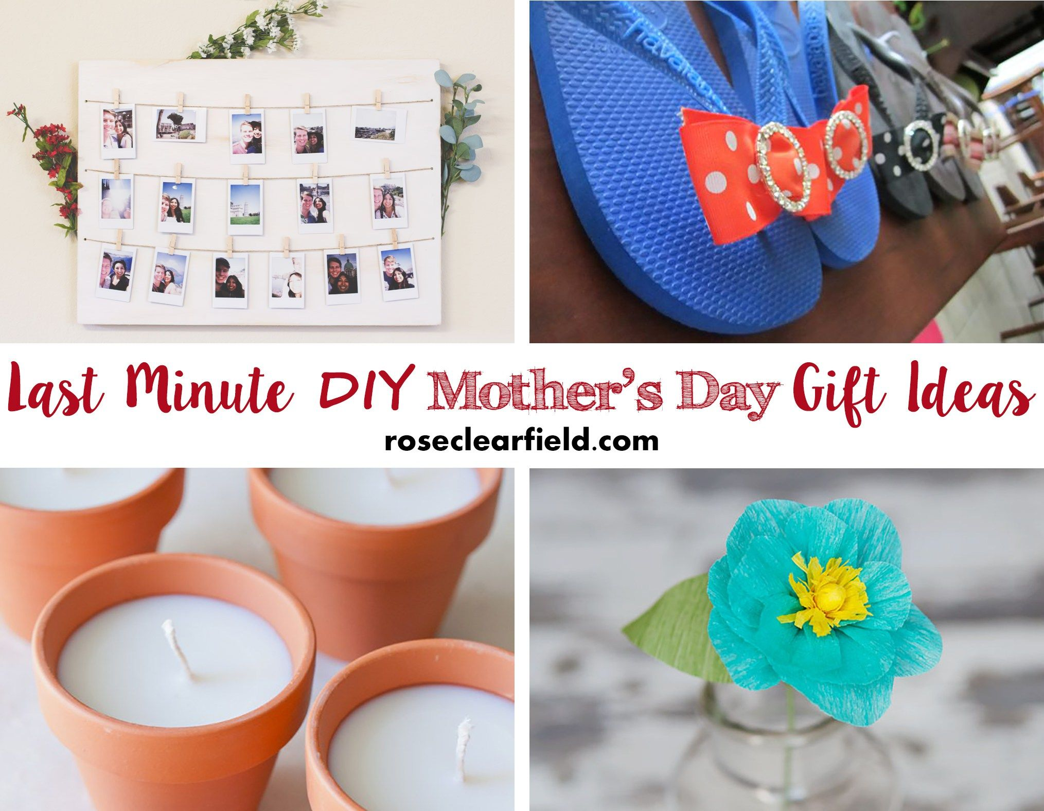 Last Minute Diy Mother 39 S Day Gift Ideas Spa Basket And Gift: mothers day presents diy