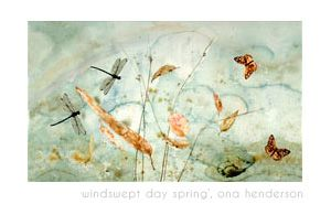 Part of my Windswept Series, watercolour painting  by Ona Henderson ©