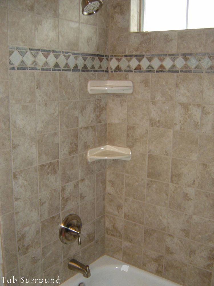 tile tub surround - Google Search | bathroom remodel | Pinterest ...