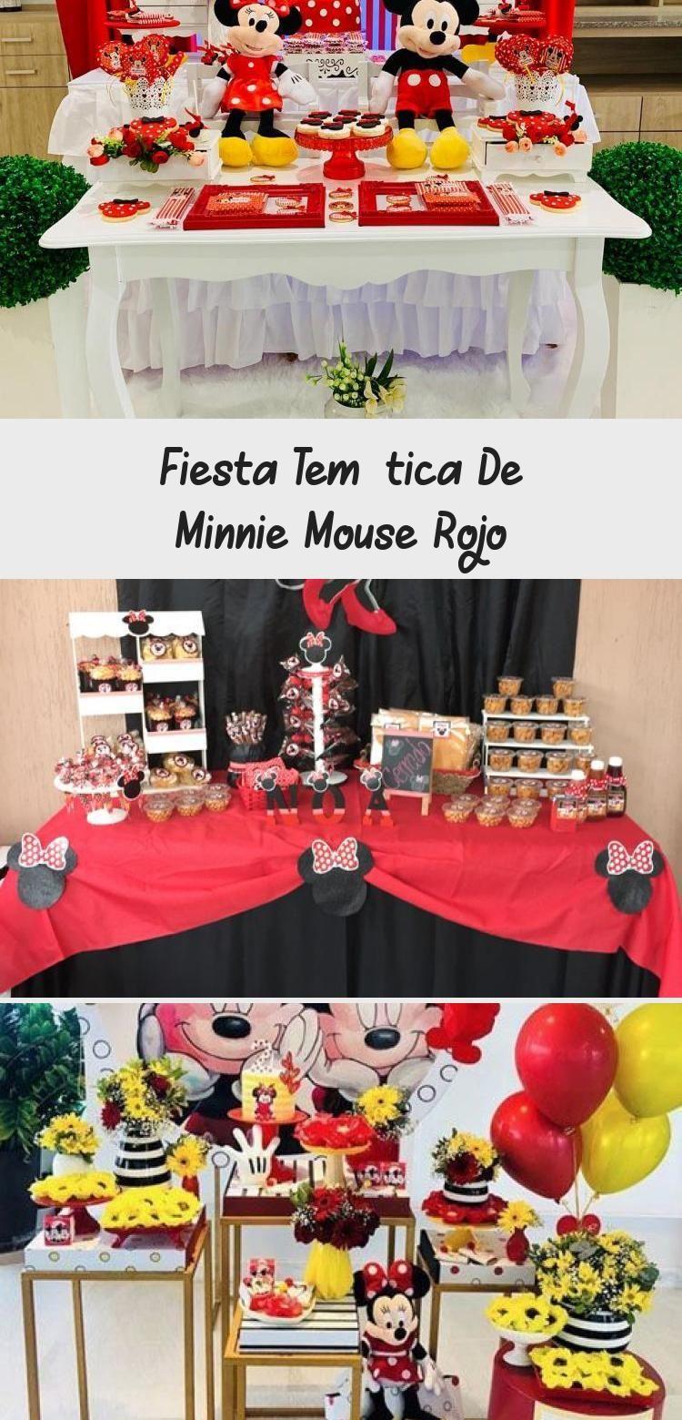 Photo of Pastel para Fiesta temática de Minnie mouse Rojo #PinataKuchenRegenbogen #Pinat…