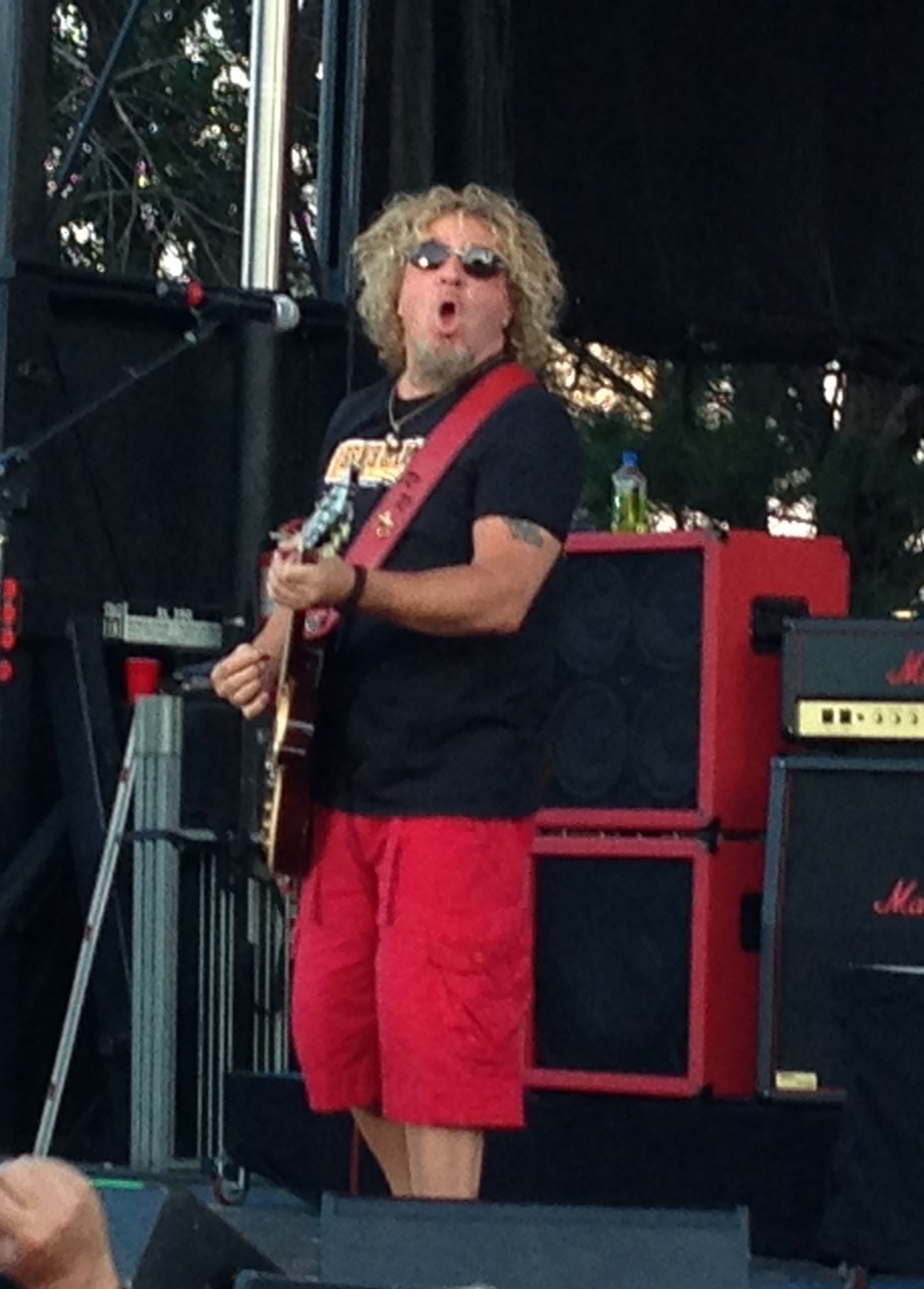 Sammy Hagar The Red Rocker Red Rocker Sammy Hagar Van Halen