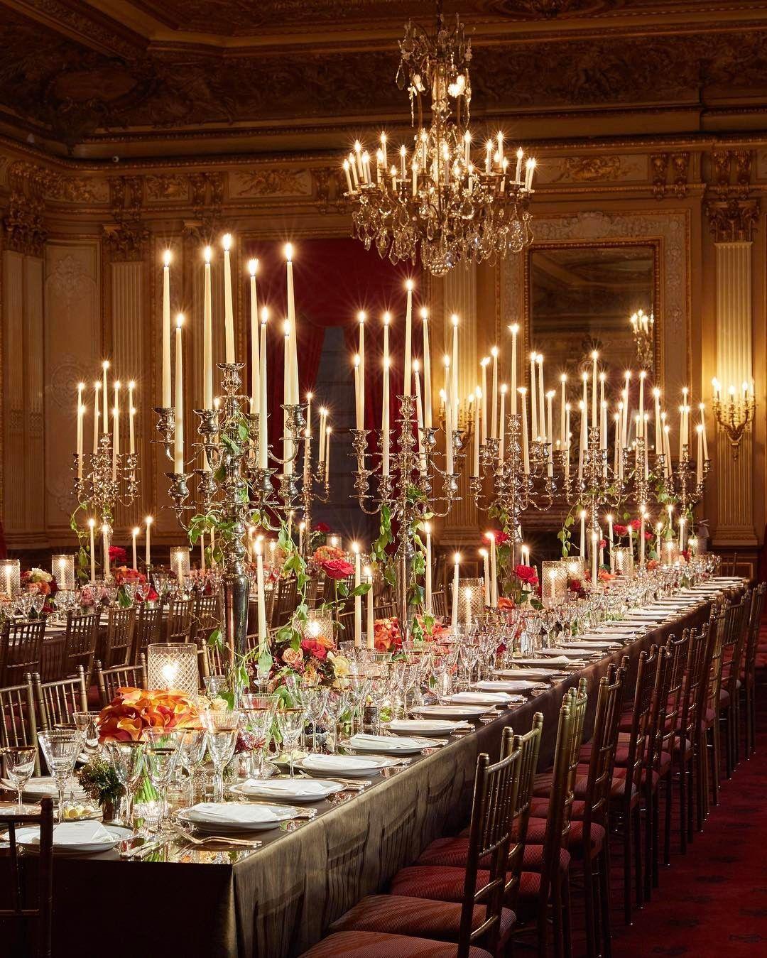 Romantic Candlelit Wedding Reception In New York City Christian