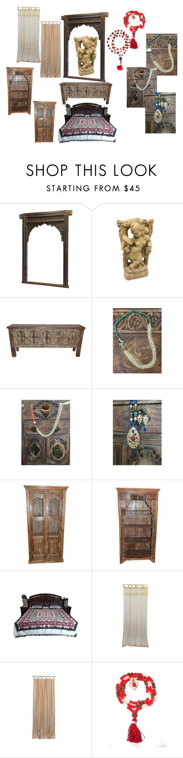 """bohemian decor"" by era-chandok ❤ liked on Polyvore featuring interior, interiors, interior design, home, home decor, interior decorating and Apsara"