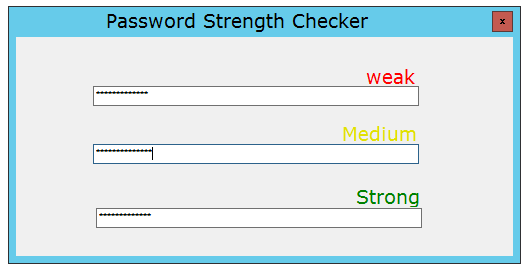 In This Tutorial You Will Learn How To Create A Password Strength Checker In Jquery With Five Stages Of Strength Very Weak Password Strength Jquery Strength