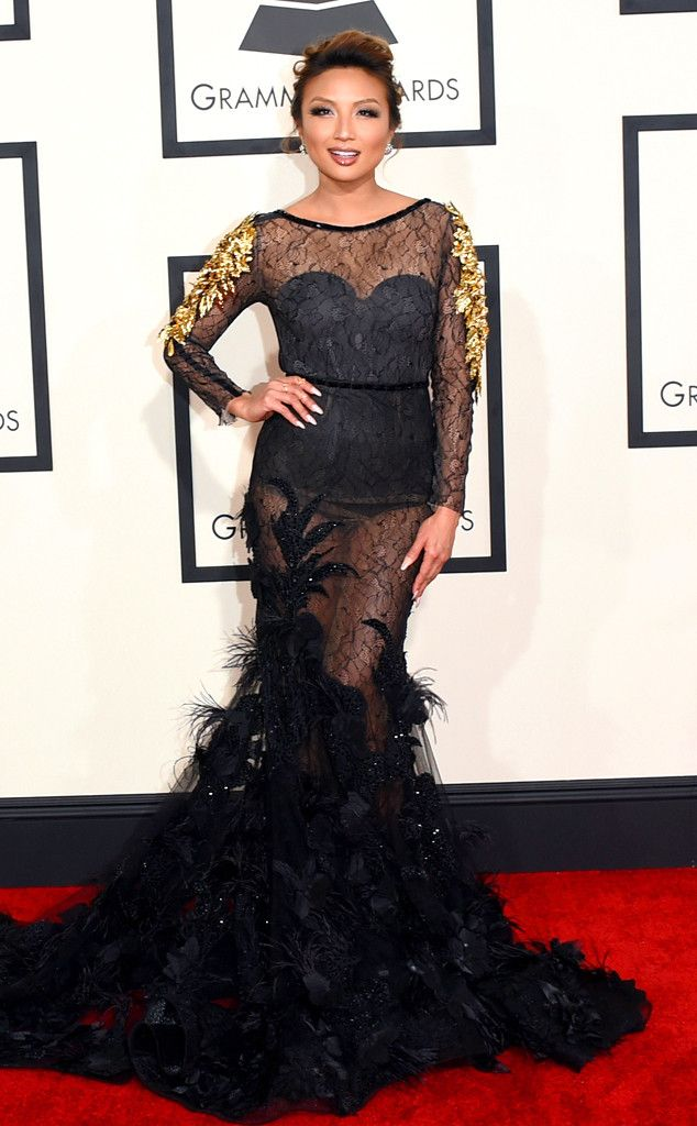 Jeannie Mai From 2015 Grammys Red Carpet Arrivals Red Carpet Wedding Dress Fashion Gowns Grammy Awards Red Carpet