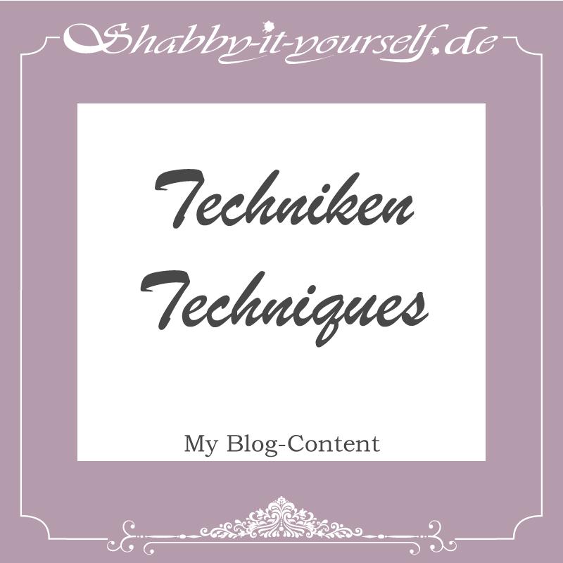 Auf meiner Seite zeige ich Euch, welche verschiedenen Techniken es gibt, um gebrauchte Möbel im Shabby Chic Look erstrahlen zu lassen. Do it yourself in shabby!