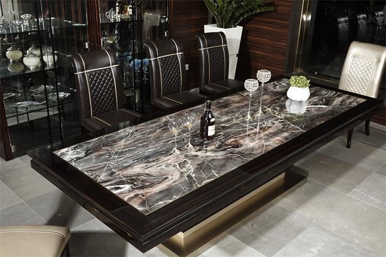 Granite Dining Room Furniture Inspiration Gray Marble Dining Room Table  Httpbehoovenpress Review