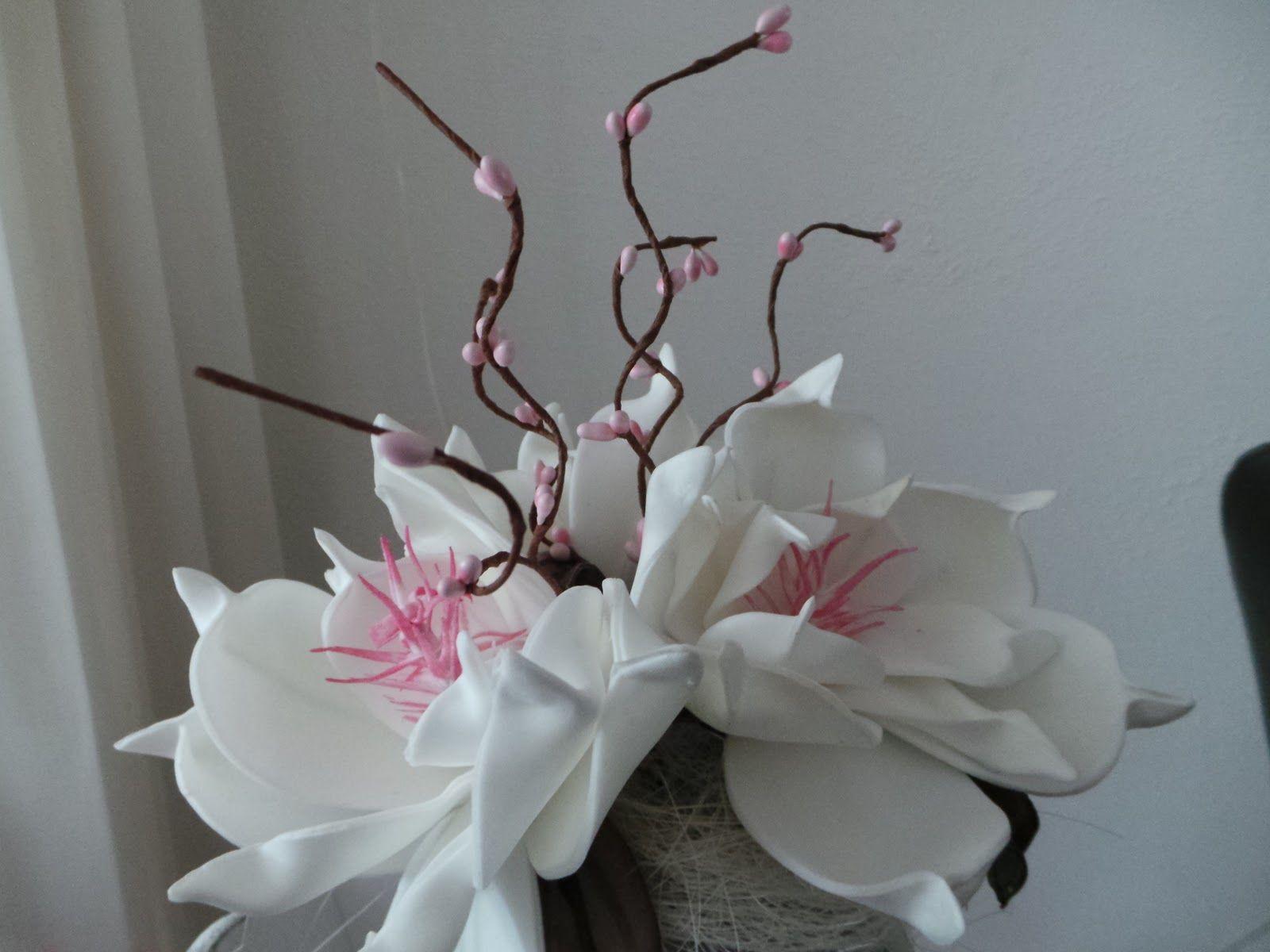 foam bloemen maken - Google zoeken