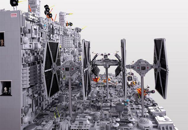 レゴ作りの『スター・ウォーズ』初代デス・スターの最後3
